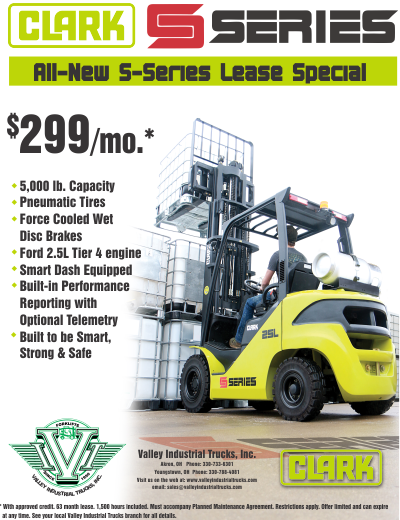 Forklifts and Material Handling Equipment Specials