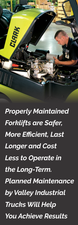 Forklift Service Caption
