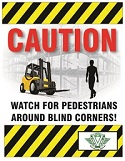 Pedestrian Safety Poster