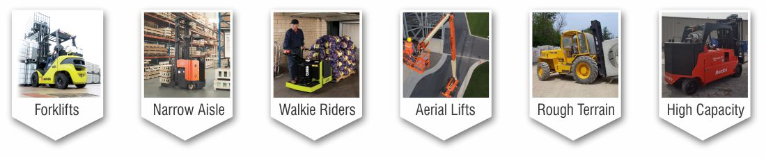 Forklift and Aerial Lift Rental Pictures in Youngstown Ohio