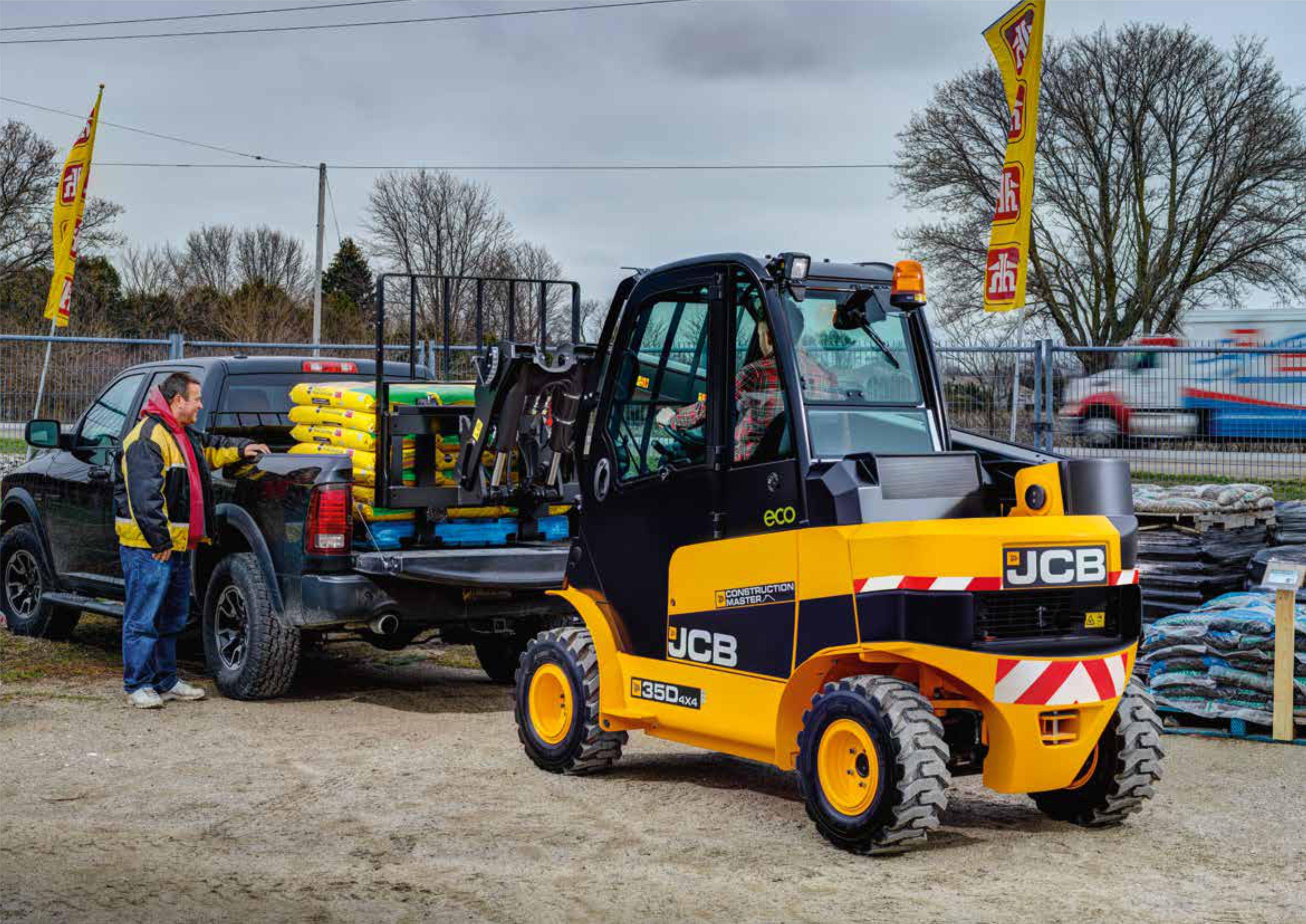 JCB Truck Loading