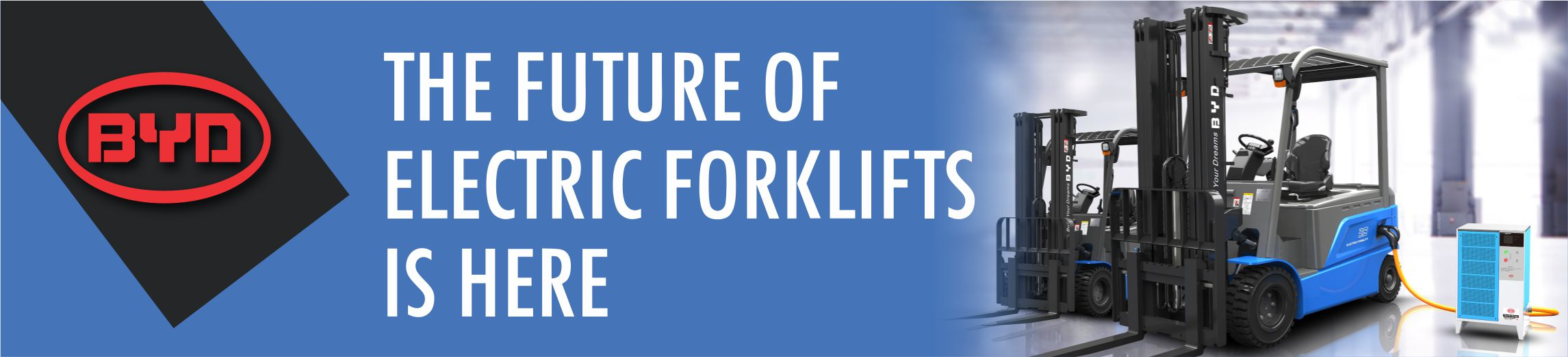 BYD Electric Forklifts