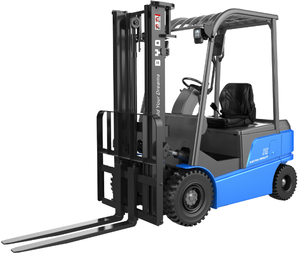 BYD ECB16S - 18S 4-Wheel Electric Forklifts
